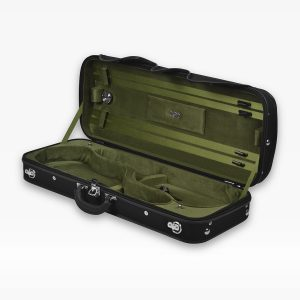 Negri Cases Milano Double Black and Olive Green
