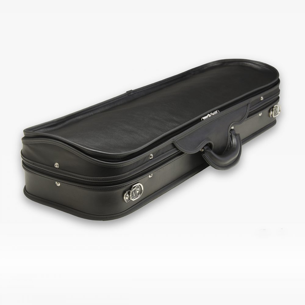 Negri Cases Milano Leather Black and Beige