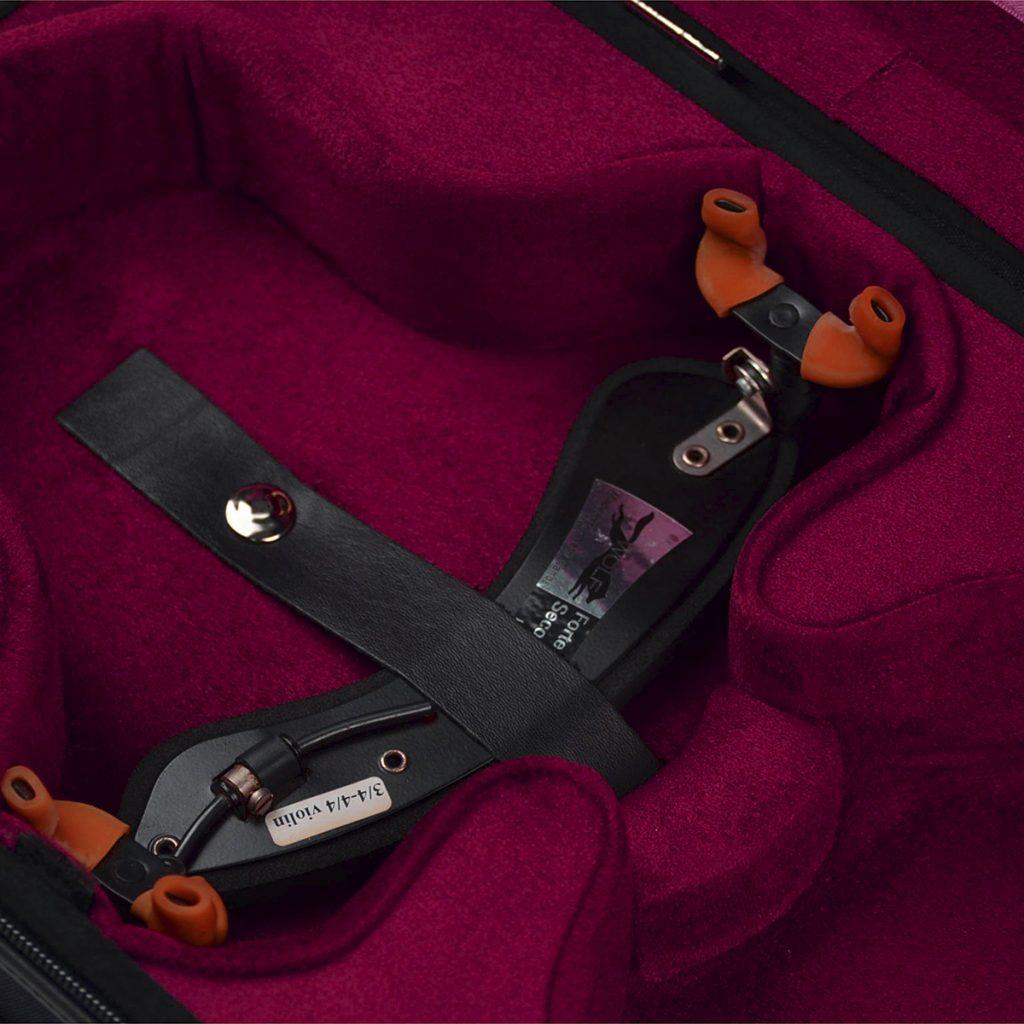 Negri Cases Venezia Viola Black and Burgundy