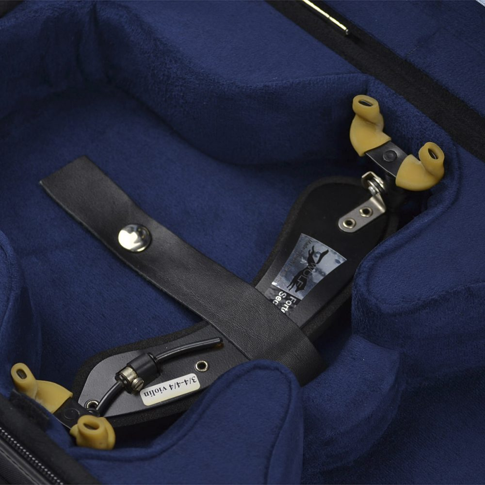 Negri Cases Venezia Viola Black and Navy Blue