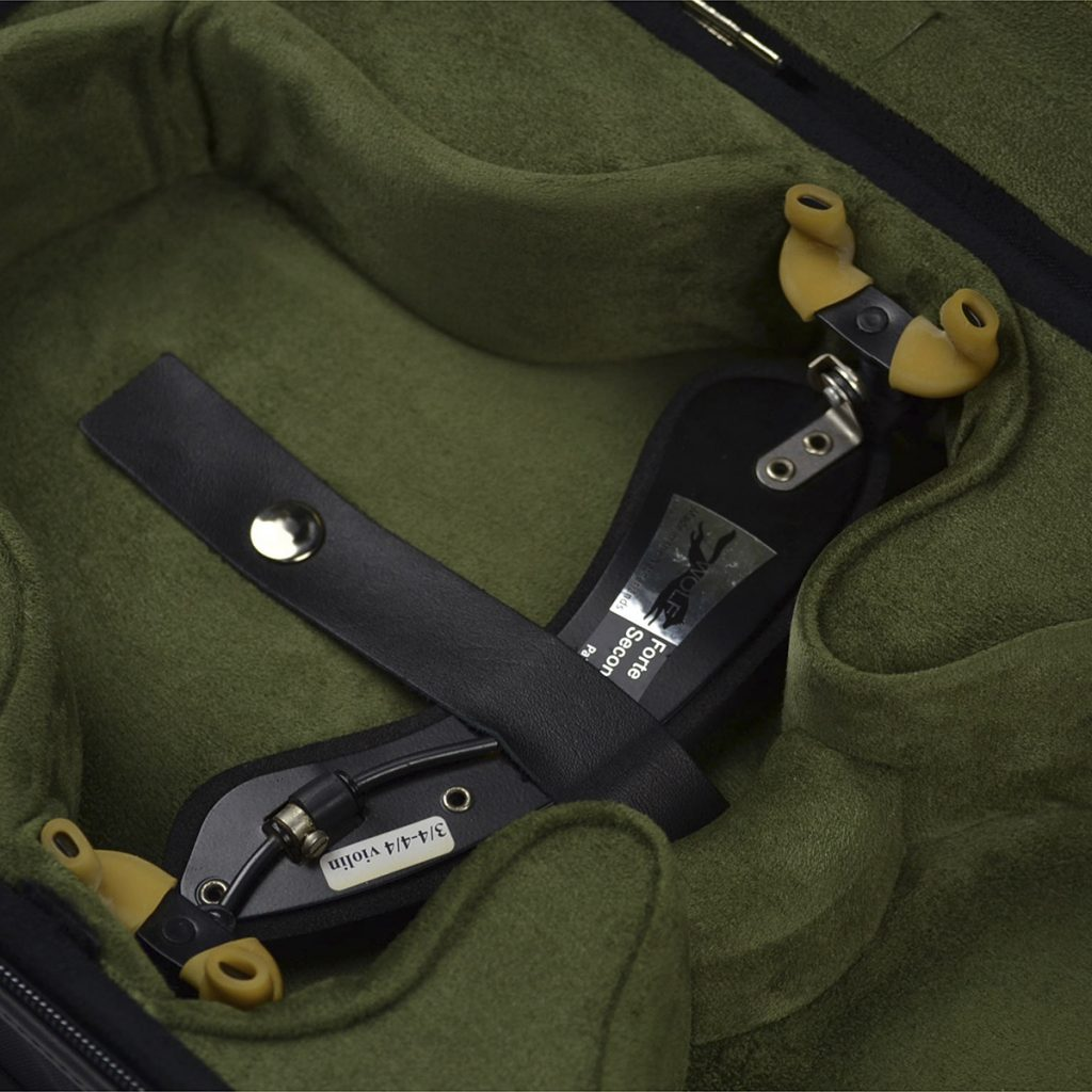 Negri Cases Venezia Viola Black and Olive Green